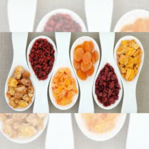 Frutas Desidratadas e Cristalizadas